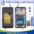 1pcs LCD Display for LG optimus G2 D802 D805 F320 with Touch Screen Digitizer Assembly with frame+TOOL