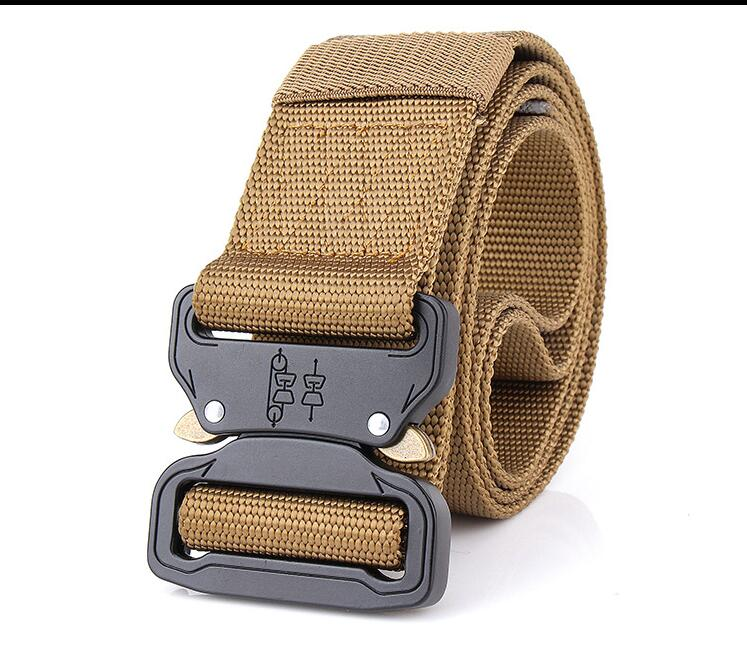 Apparel Accessories 2018 Hot Mens Tactics Military 1000d Nylon Metal Buckle Beats Belt Us Army Soldiers Carry Belt 3.8cm Latest Fashion
