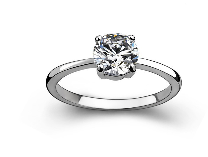 Erstaunlich Zwei Ringe Kombinieren Pure White Gold 18 Karat
