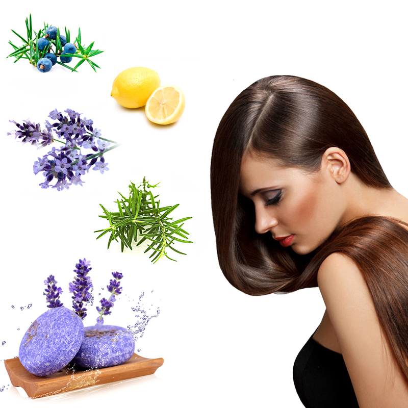 Handmade Hair Shampoo Soap Dry Shampoo Soap Oil-control Anti-Dandruff Off  Anti-Hair Loss Moisturizing Hair Care Bar Healthy
