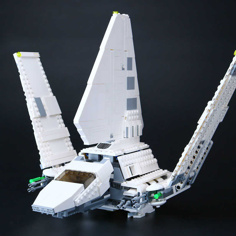 New Lepin 05057 937Pcs Star Series War The  Shuttle Set Model Building Kit Blocks Bricks Toy Gifts Compatible With 75094 rollercoasters the war of the worlds