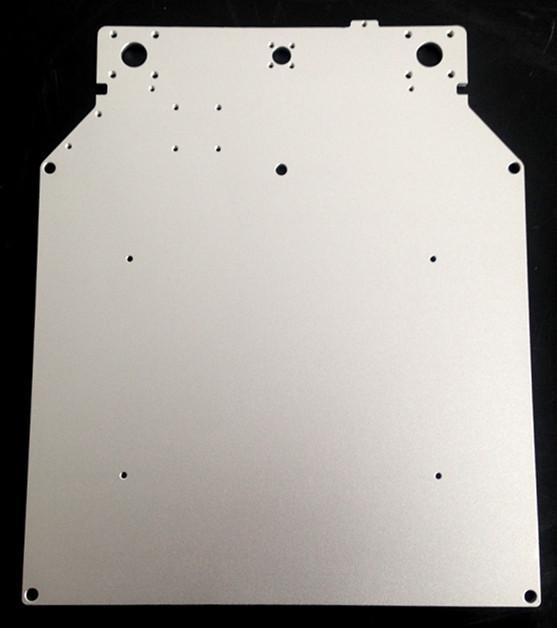 Prix pour JennyPrinter Pour UM2 Ultimaker 2 Étendu Z Table Plaque De Base plate-forme de support en aluminium chauffée chaude lit plaque 3D imprimante pièces