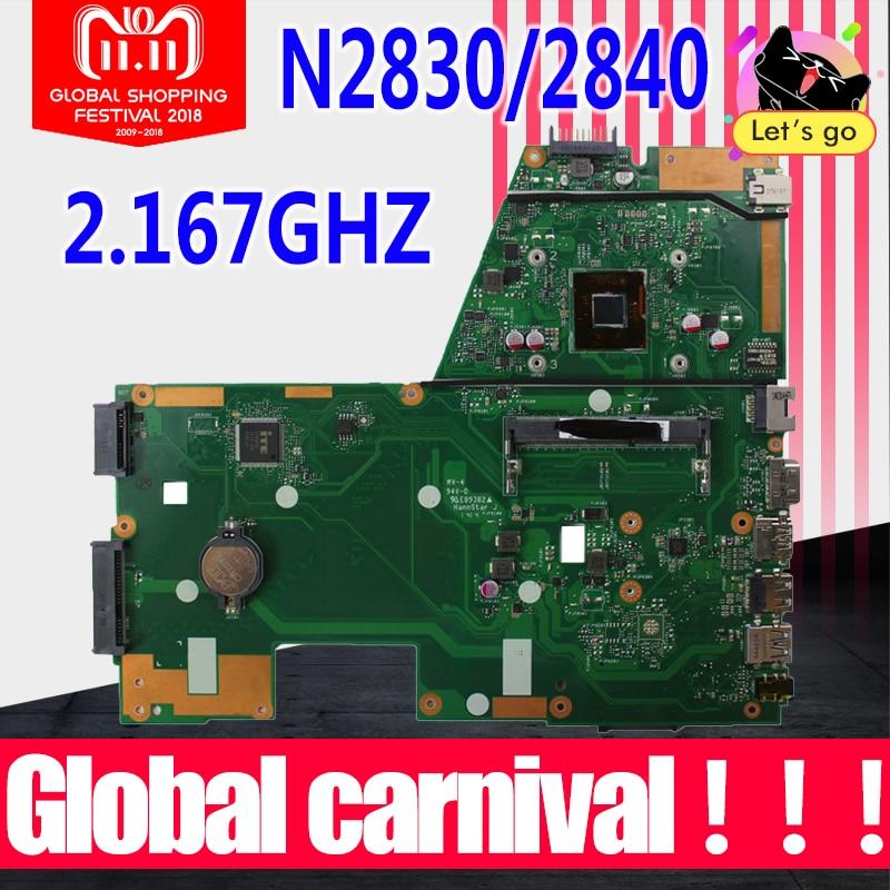 X551MA Motherboard N2830/N2840 Für ASUS X551M F551MA R512MA D550MA laptop Motherboard X551MA Mainboard X551MA Motherboard 100% ok