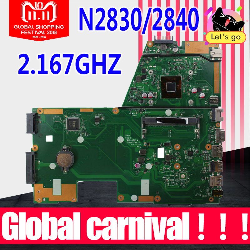 X551MA Motherboard N2830/N2840 For ASUS X551M F551MA R512MA D550MA laptop Motherboard X551MA Mainboard X551MA Motherboard 100%ok 4cores n2930 1 833ghz cpu x551ma motherboard for asus f551ma x551ma d550m laptop motherboard x551ma mainboard x551ma motherboard