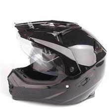 WANLI Pioneer motorcycle helmet with sun shield atv dirtbike cross motocross double lens off road racing moto helmets