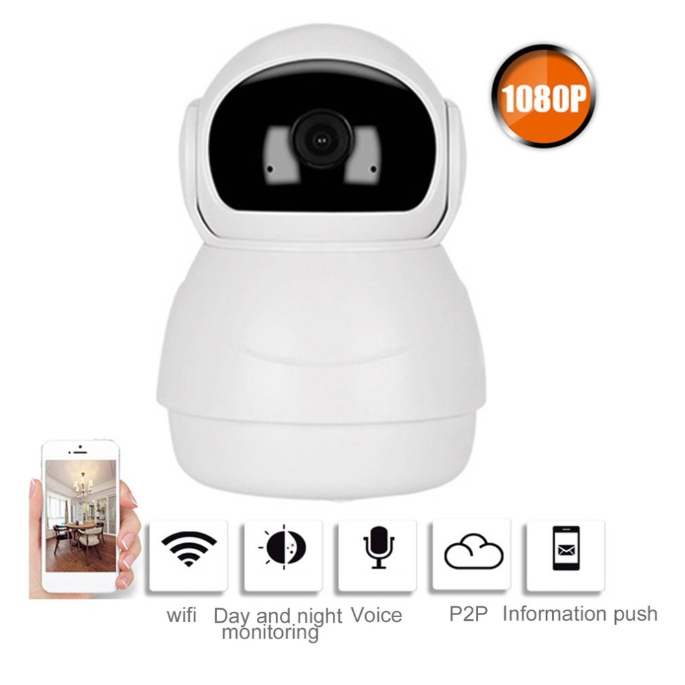 LESHP Wireless IP Camera Wifi 1 080P Home Security CCTV Camera 360 Degree Night Vision Support 128GBLESHP Wireless IP Camera Wifi 1 080P Home Security CCTV Camera 360 Degree Night Vision Support 128GB