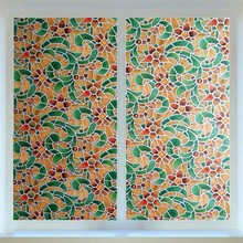 Stained Privacy glass film Colored retro window stickers PVC toning Self-Adhesive vinyl on the decoration 60*200cm