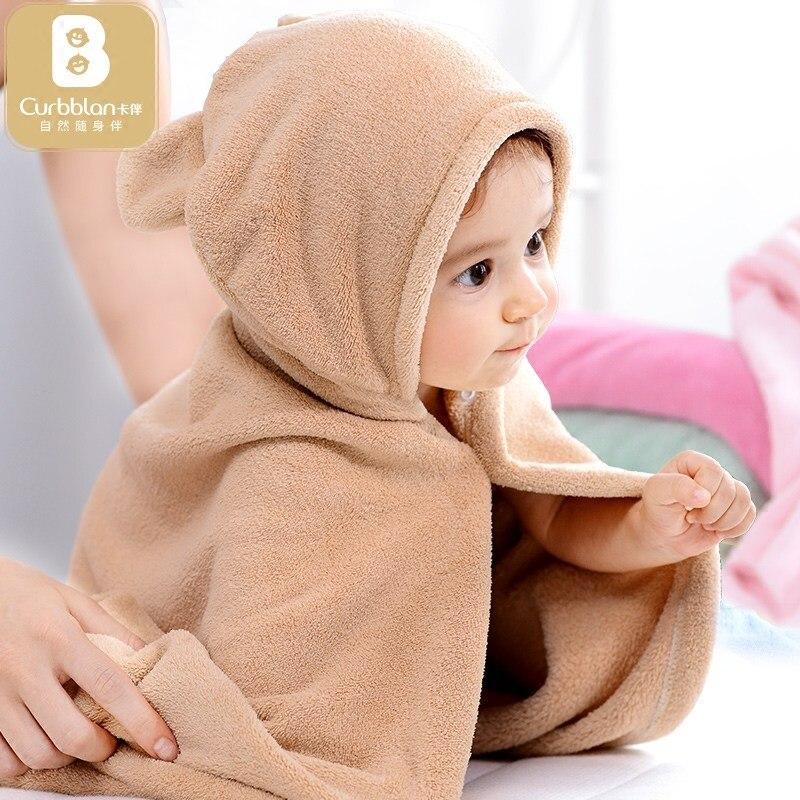 Coton soins de Bébé À Capuchon Serviette De Bain Enfant Couvertures bébé enfants poncho serviettes stuff 65*110 cm bébé bain à capuchon serviette gant de toilette