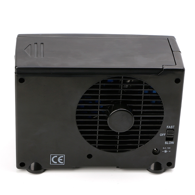 Image 4 - Portable Air Conditioner For Cars 12V Adjustable 60W Car Air Conditioner Cooler Cooling Fan Water Ice Evaporative Cooler-in Heating & Fans from Automobiles & Motorcycles