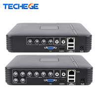 Techege 4 Channel 8 Channel AHD DVR AHD M 720P 960H CCTV DVR 4CH 8CH Mini