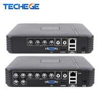 Techege 4 Channel 8 Channel AHD DVR AHD M 720P 960H CCTV DVR 4CH 8CH Mini