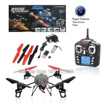 Wholesale WLtoys V959# 2.4G 4-Axis 4CH RC Quadcopter UFO with Lights and Gyro. Free Shipping.