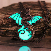 Glow in the Dark Game of Thrones Dragon Pendant