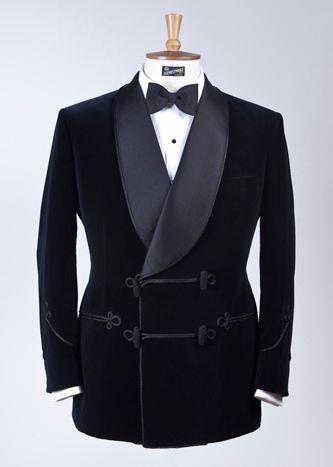2017 Latest Coat Pant Designs Black Velvet Suits Shawl Lapel Men Suit Slim Fit 2 Piece