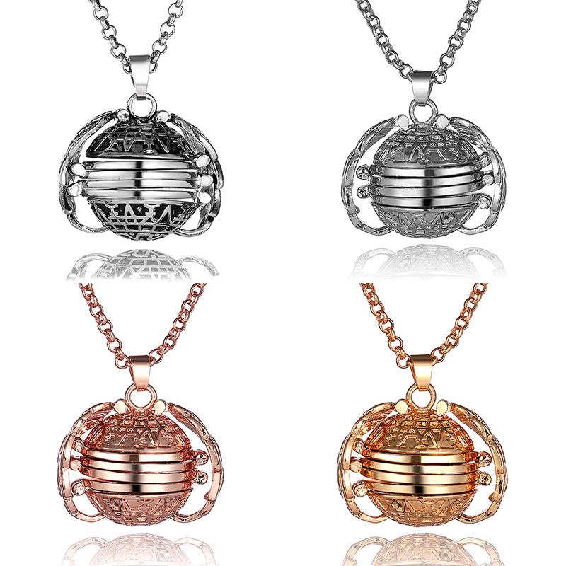 Exquisite DIY Photo Storage Pendant 4 Colors Angel Wings Locket Necklace For Women Summer Romantic Jewelry Fashion Accessories