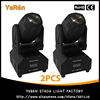 LED Mini Moving Head Beam Light RGBW 10w Cree Led Lamp DMX 12channels Dj Light For