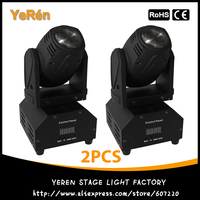 LED Mini Moving Head Beam Light RGBW 10w Cree Led Lamp DMX 12channels Dj Light For