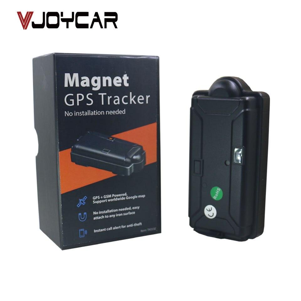 VJOYCAR Rastreador Veicular Magnetic Localizador GPS Tracker 5000mAh Waterproof Drop Sensor SOS FREE Tracking Software