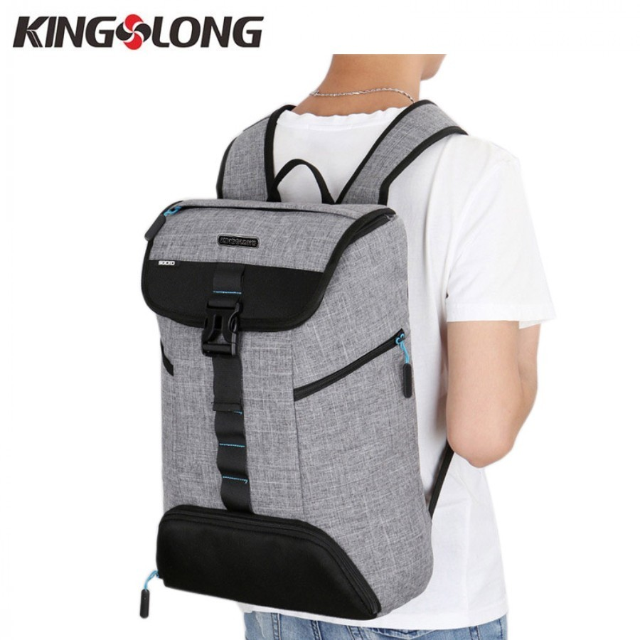 KINGSLONG Men Backpacks Bags for Shoes Waterproof 10-15.6 Inch Laptop Backpack Notebooks Men's Backpack Female mochilas #53 - 6
