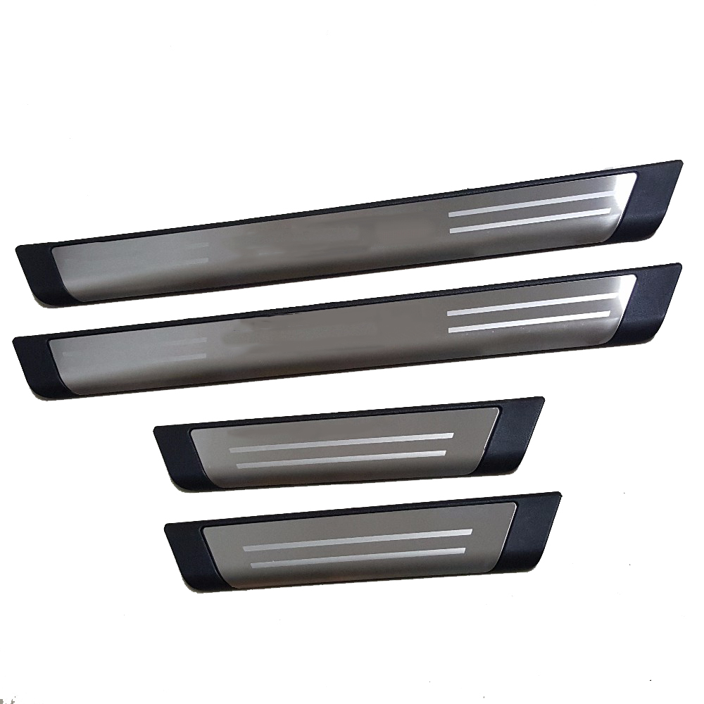 Car Styling Accessories For Vw Volkswagen Tiguan Mk1 2009 2016 Stainless Door Sill Cover Trim Scuff