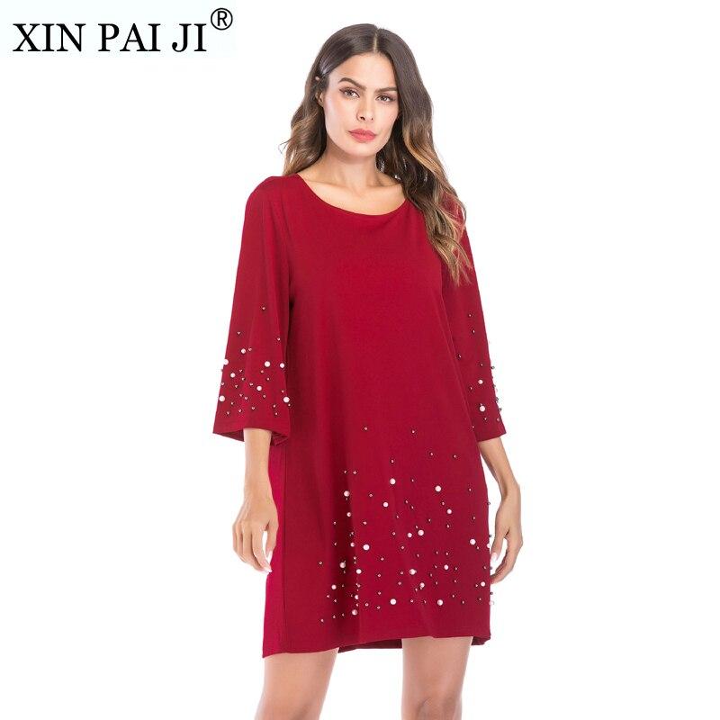 Xin Pai Ji Sundress Suelto Vestidos Casuales De Mujer De