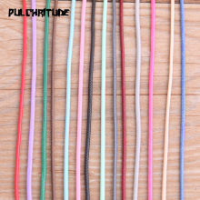 10 Meter 1.5mm 14 Color Mix PU Leather Cord & Rope Diy Jewelry Findings Accessories Fashion Jewelry Making Material for Bracelet(China)