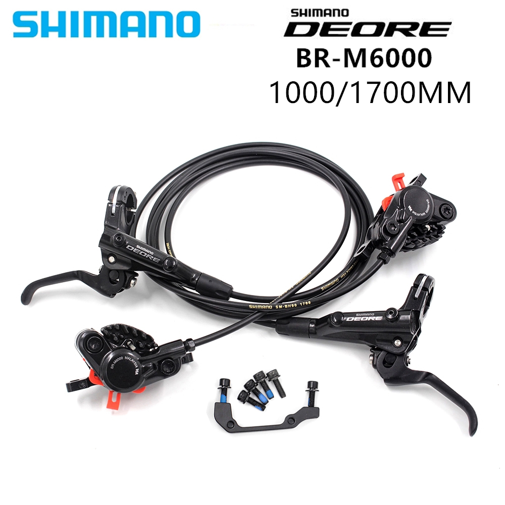 Shimano DEORE BR M6000 Brake Mountain Bikes Hidraulic Disc Brake MTB BL M6000 1000 1700 Left