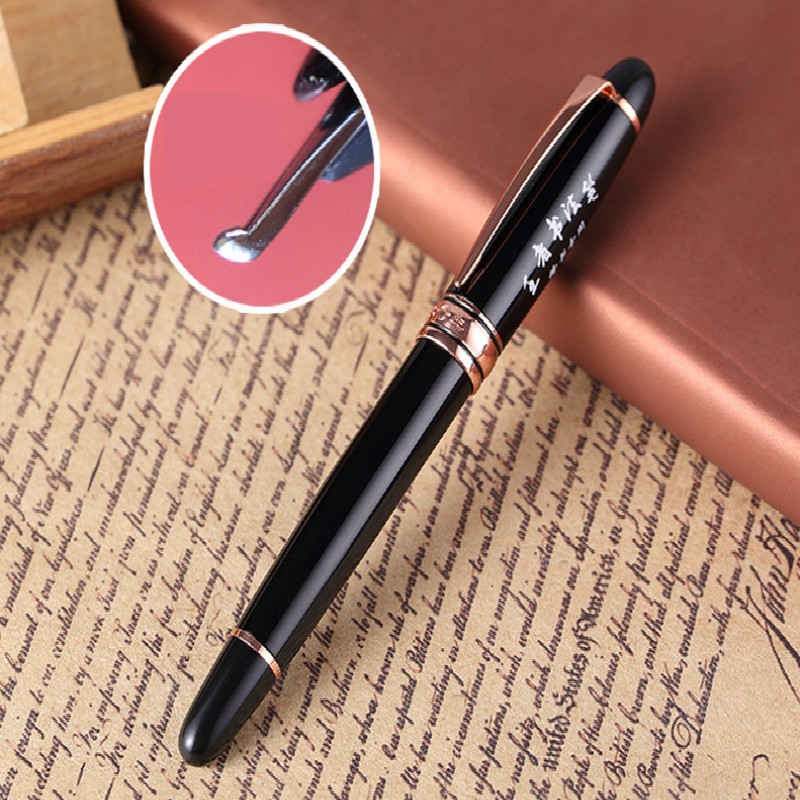 Calligraphy Fountain Pen School Office Stationery Fountain Pen 0.5mm Student Adult Regular Script Practice Fountain Pen picasso pen 916 ma 0 38 students practice calligraphy pen lagat fine fountain pen