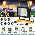300-900 W LED Tragbare Wiederaufladbare Flutlicht Wasserdichte Batterie Betrieben Suchscheinwerfer Outdoor Arbeit Lampe Camping Heißer