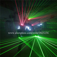 Hot Sale Laser Man Costume Led Luminous Laser Show Robot Suit Party Stage Performance Laserman Ballroom Clothes