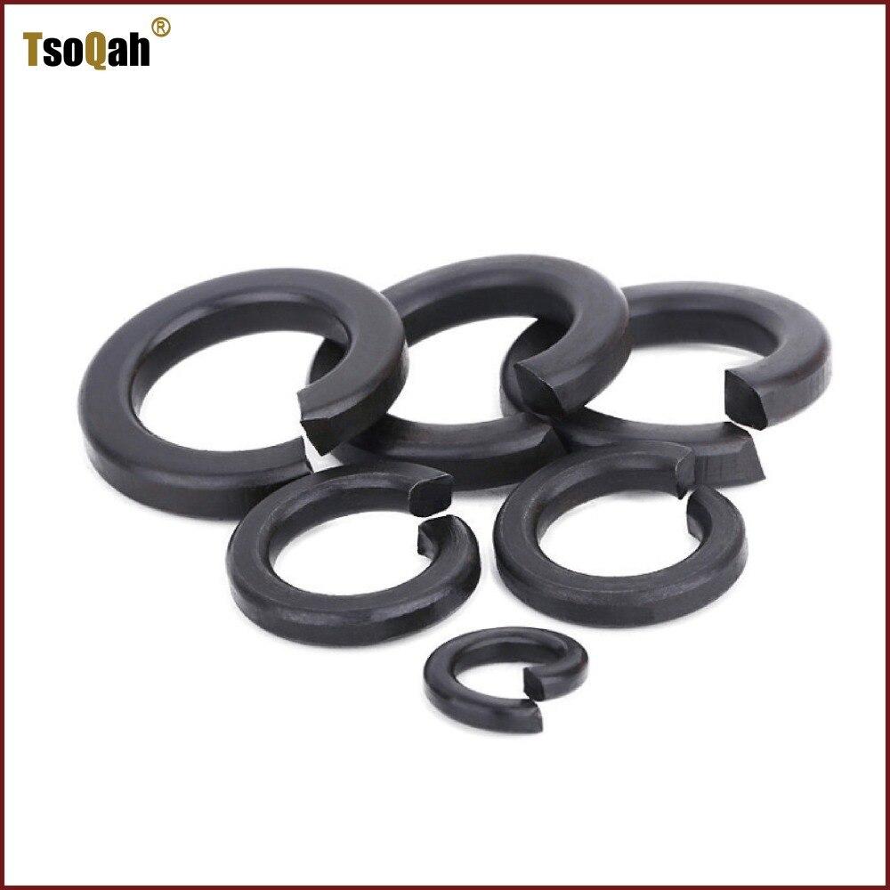 Grade 8 Flat Washers Carbon Steel Black Oxide M3 M4 M5 M6 M8