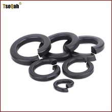 цены split ring lock washer grade 8 M3 M4 M5 M6 M8 M10 M12 M14 M16 M18 M20 M22 M24 M27 M30 M36 carbon steel black oxide finish