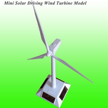 2020 Hot sprzedaży Mini Solar turbina wiatrowa Model Mini Solar Toy Mini turbina wiatrowa Generator Model zasilany energią słoneczną wiatrak tanie i dobre opinie NoEnName_Null Solar Powered Windmill Model 1V 70MA 34cm*11cm*2cm 0 4KG Solar Generator
