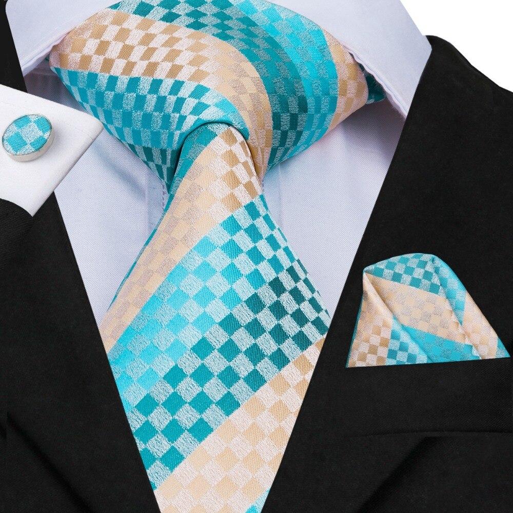 Apparel Accessories Steady Hi-tie 20 Fashion Styles Silk Ties For Men Luxury Tie Set Brand Animal Ties Hanky Cufflinks Set Blue Pink Green Red Gravatas Delaying Senility