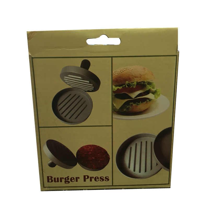 Punho plástico Pressionando Dispositivo de Carne De Hambúrguer No Nível de Pasta de Alimentos Modelo de Aparelho de Cozinha Gadget Utensílio de cozinha Fabricante de Hambúrguer Patty