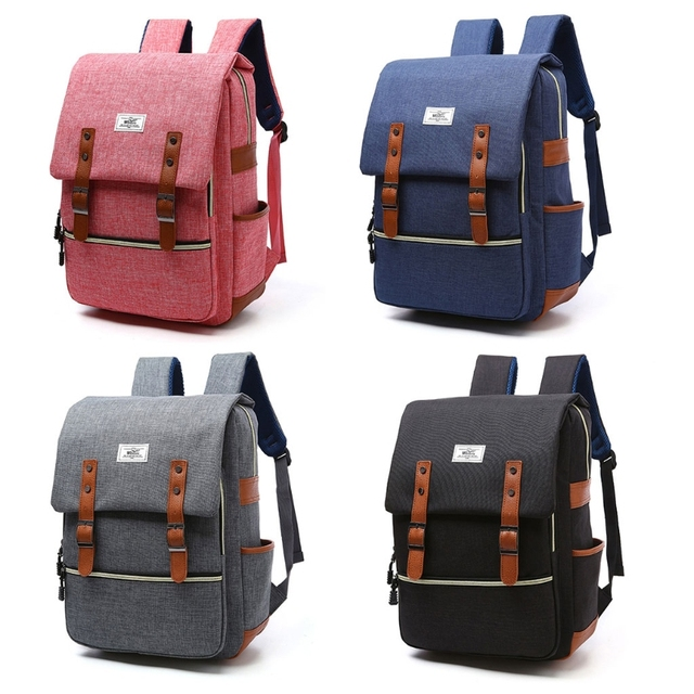 7829b8ecfa WOWANG Men Women Oxford Laptop Backpack Large Capacity Durable School Bag  Business College Travel Shoulder Bags