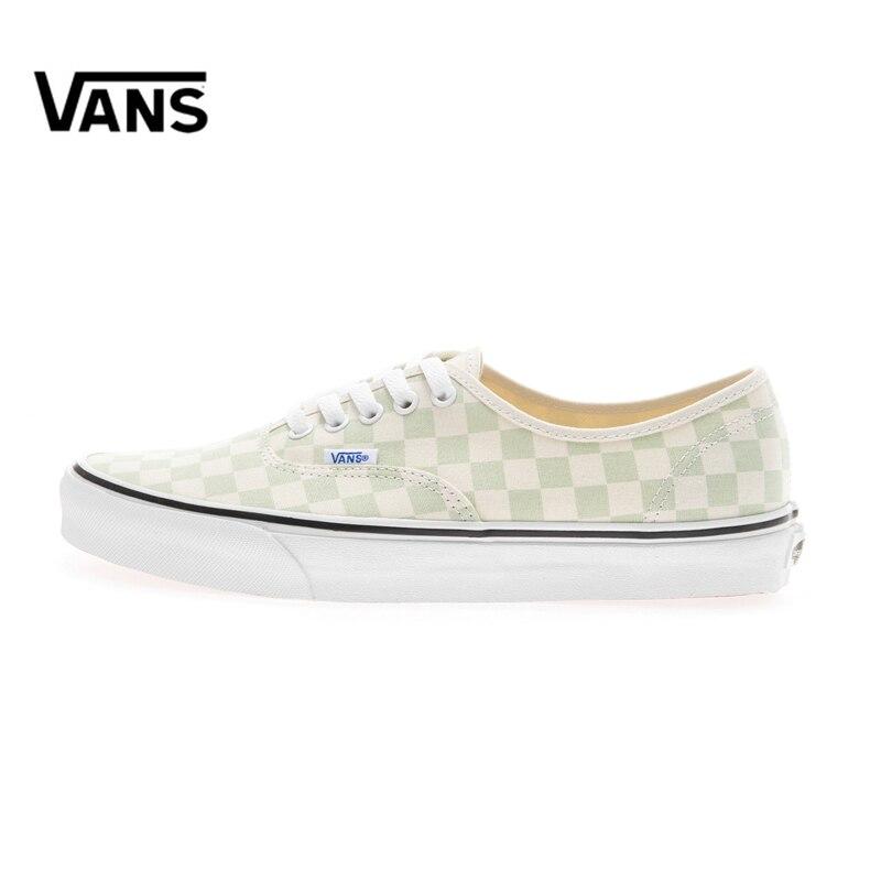 Original New Arrival Vans Men's & Women's Classic Authentic Low-top Skateboarding Shoes Outdoor Sneakers Canvas VN0A38EMQ8J vans authentic
