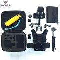 Xiaomi yi acessórios capacete da bicicleta cabeça strap mount harness belt peito monopé tripé para câmera para gopro hero 5 5S 4 3 + GS40