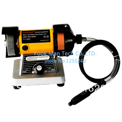 Grinding Machine with shaft ,Bench Lathe Motor,Polishing Machine,Wholesale Buffing Motor,abrasive machine bench grinder polishing and buffing machine motor with flex shaft attachment and wheels 1 8 hp