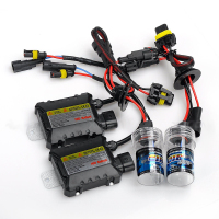 1 Set High Brightness Car Styling 55W H1 Xenon HID KIT Bulb Ballast 8000K Car Headlight