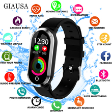 T1 Smart Wristband  Heart Rate Blood Pressure Monitor Fitness Bracelet tracker  fitness activity watch for IOS Android PK mi 3 4 ip68 smart wristband watch heart rate blood pressure o2 monitor app gps run for ios xiaomi honor pk mi band 3 fitness bracelet 4