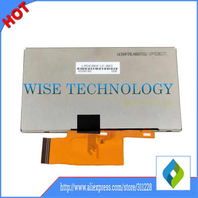 4.3 ''pulgadas para Tomtom One XL 325 335 LCD Panel de Exhibición de Pantalla con digitalizador de pantalla táctil, GPS LCD