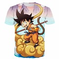 New Harajuku Style Tee Shirt Classic Dargon Ball Z Anime t shirts Men Women Summer Casual tees Kid Goku/Majin Buu 3D t shirt