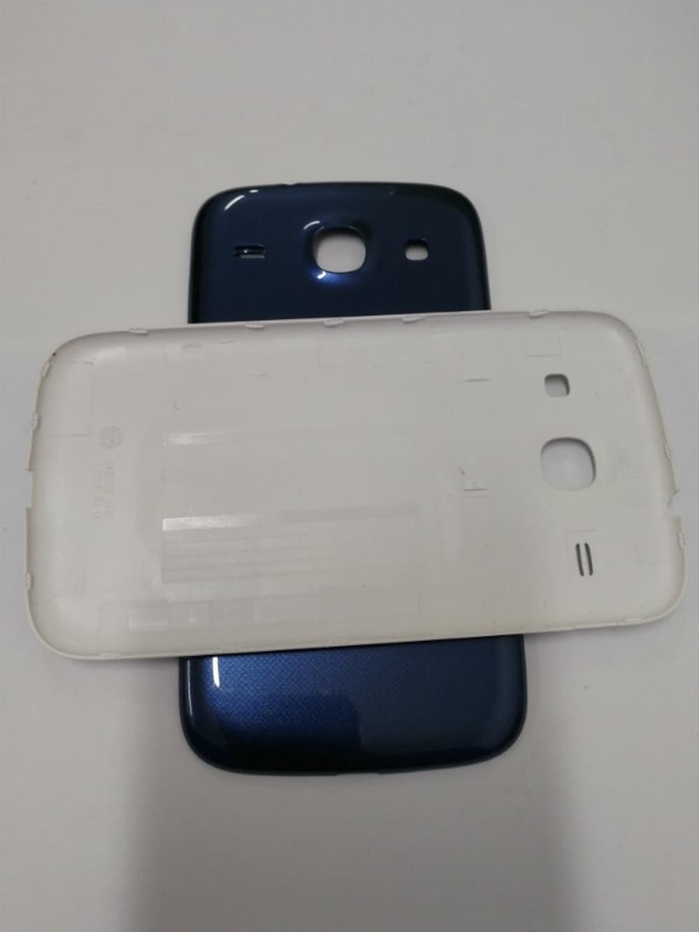Nouveau Boîtier de La Batterie Couverture Arrière Porte Pour Samsung Galaxy Core I8260 I8262 GT-I8262 8260 Cas Pièces De Rechange
