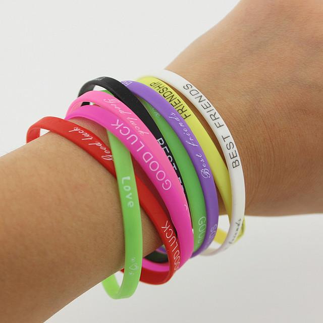 Rubber Hands Bracelets