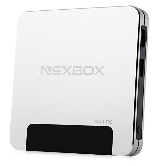 NEXBOX T9 TV Box Bluetooth4.0 Windows10 Z8300 CPU Quad-core 1.84 GHz HDMI Decodificadores WiFi 4 GB RAM 64 GB ROM Smart Media jugador