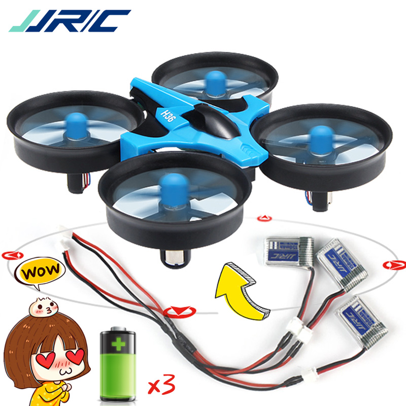 JJRC H36 Mini Drone Quadcopter 3D Flip Headless Mode One Key Return RC Helicopter Drones VS JJRC H8 Mini Dron Best Toys For Kids