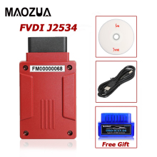 Original FVDI J2534 Car Diagnostic Tool for F-o-r-d M-a-z-d-a Support Online Module Key Programming Most of ELM327