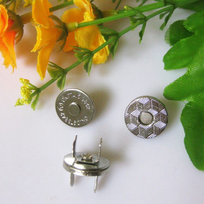 Arts,crafts & Sewing Flight Tracker 10 Sets/lot 10mm Silver Small Metal Magnet Buttons For Handbags,purse,metal Button Fastener For Wallet Bags Home & Garden