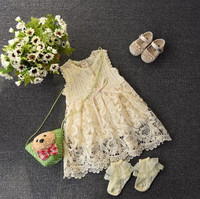 Newborn Baby Dress Toddler Baby Girls Dress Infant Dress Children Kids Clothes Baby Clothing Free Drop